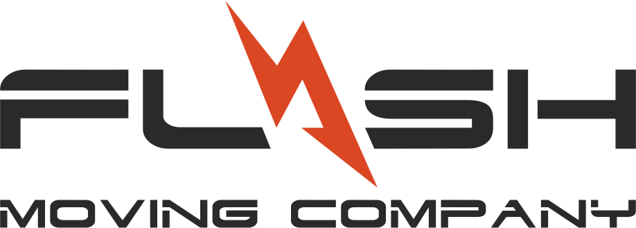 This is the Flash Moving Company logo.