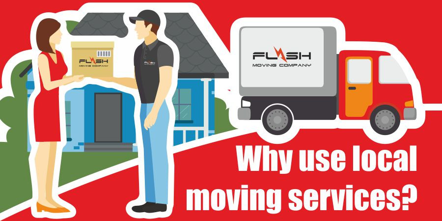 This is a graphic for local moving services.