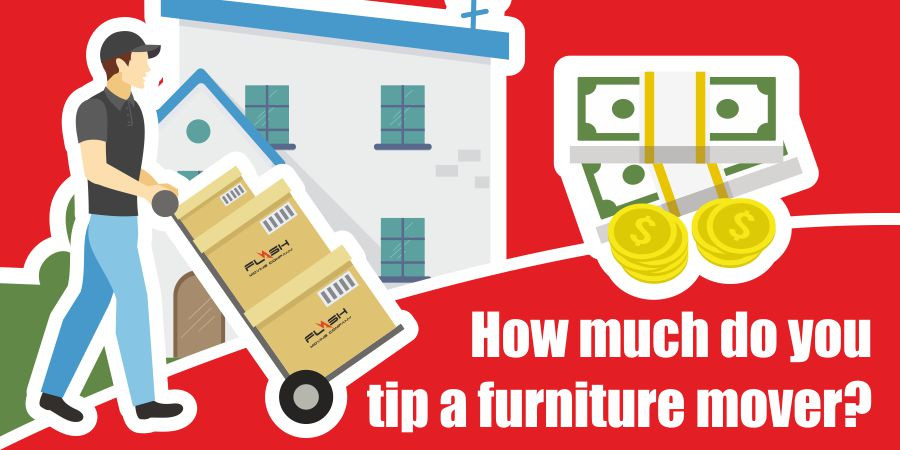 This is a graphic for tipping a furniture mover.