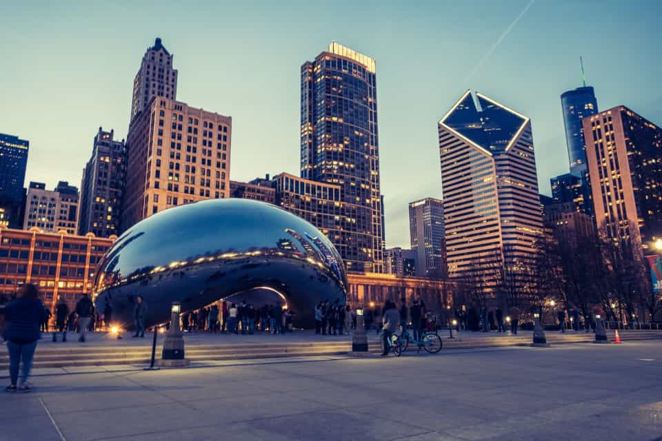 This is a photo of Chicago where Flash Moving provides moving services.